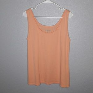 Soft Surroundings Orange Creamcicle Color Tank